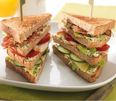 Club sandwich - Recept - Jumbo Supermarkten