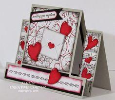 Alex's Creative Corner: Sending You My Love - mini envelope form Note Tag