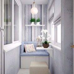 Дизайн балкона✨ #ИнтерьерДекор_Балкон