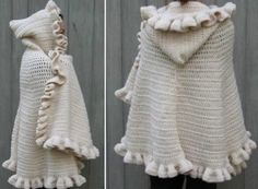 Hooded Cape Crochet Pattern Free You Will Love This Stunner