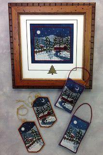 """Foxwood Crossings- """"Harrisburg Winter""""    Norden Crafts Online Needlework Show"""