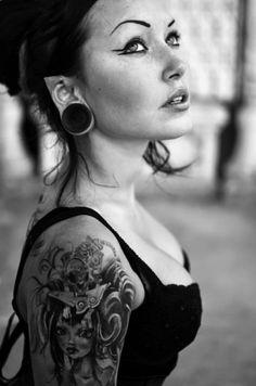 . #Tattoos beautiful girl