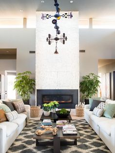 Pictures of the HGTV Smart Home 2017 Great Room >> http://www.hgtv.com/design/hgtv-smart-home/2017/great-room-pictures-from-hgtv-smart-home-2017-pictures?soc=pinterest