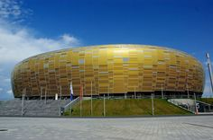 PGE Arena Gdansk in Gdansk, Poland (seats 40,000, completed in 2011)