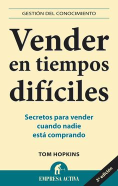 Resumen con las ideas principales del libro 'Vender en tiempos difíciles', de Tom Hopkins. Secretos para vender cuando nadie está comprando. Ver aquí: http://www.leadersummaries.com/resumen/vender-en-tiempos-dificiles