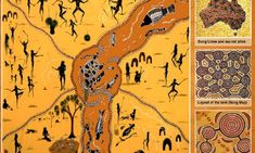 Australia's Songlines: An Ancient Network Known As The 'Footprints Of The Ancestors' Aboriginal Education, Indigenous Education, Aboriginal History, Aboriginal Culture, Aboriginal People, Indigenous Art, Aboriginal Dreamtime, Naidoc Week, Art Of Letting Go