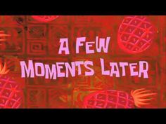 Alguns momentos depois - Bob Esponja Sponge Bob A Few Moments Later With Foto Youtube, Vídeos Youtube, Youtube Logo, Link Youtube, Spongebob Time Cards, Spongebob Memes, Cartoon Memes, Youtube Banner Backgrounds, Youtube Banners