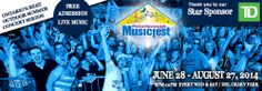 Peterborough Musicfest just announced the 2014 Musicfest line-up and it is fantastic! Won't be long until we start giving away VIP tickets on Facebook... stay tuned!   I'm really looking forward to #EmersonDrive  on August 27!