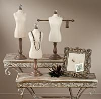 Natural Fashion Memo Boards and Fabric Body Forms (Jewelry Displays)