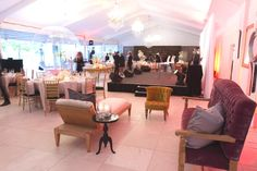 Create lounge areas at your next corporate event to encourage interaction and networking