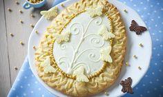 Mazurek migdałowy Sweets, Baking, Food, Easter Ideas, Recipes, Treats, Gummi Candy, Candy, Bakken