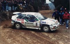 1995 Ford Escort RS Cosworth-Bruno Thiry-Stéphane Prévot-6eme