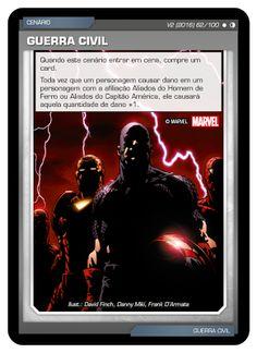 Fabian Balbinot - MagicJebb: Marvel Battle Scenes - #BSGC O cenário Guerra Civi...