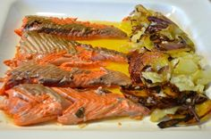 Trucha noruega al horno - Blogs de La cocina de Paloma de la Rica
