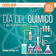 Felicitamos a todos aquellos profesionales que son un pilar importante para la #Química en sus diferentes campos de trabajo, especialmente a los integrantes de nuestra #ComunidadUDLAP.  #DíaDelQuímico