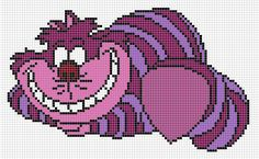 This is the pattern I used to make santian69.deviantart.com/art/C… and santian69.deviantart.com/art/C… Fast and funny! Try it if you like ^^ 58 x 97 stitches. Cheshire cat original ch...
