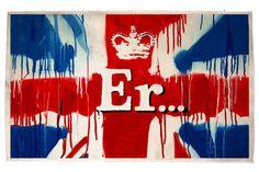 Banksy's Free Diamond Jubilee Print 'Er...' | Highsnobiety.com
