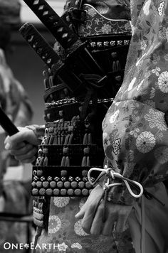 Jidai Festival, Kyoto, Japan - the details of Samurai armor