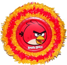 World of Pinatas - Angry Birds Pull String Pinata, $27.99 (http://www.worldofpinatas.com/angry-birds-pull-string-pinata/)