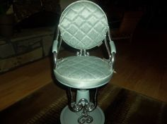 Image result for blue battat chair Our Generation Dolls, Barber Chair, Image, Blue, Home Decor, Decoration Home, Room Decor, Home Interior Design, Home Decoration