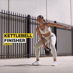 Ryderwear US: Bodybuilding Clothing & Weightlifting Workout Apparel Kettlebell Workout Routines, Best Kettlebell Exercises, Kettlebell Abs, Full Body Hiit Workout, Gym Workout Videos, Butt Workout, Crossfit Leg Workout, Arm And Leg Workout, Best Cardio Workout