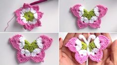 ► Learn how to make the free pattern is crochet Flower: - Crochet Free