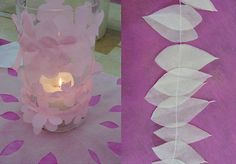 Simple candle decorating