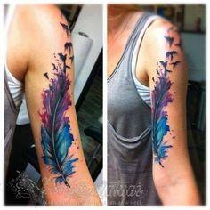 To dopiero pióro! - Pomysł na tatuaż