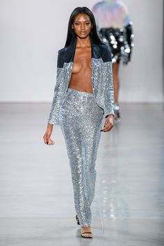 Christian Cowan Spring 2020 Ready-to-Wear Fashion Show Collection: See the complete Christian Cowan Spring 2020 Ready-to-Wear collection. Look 12 Fashion 2020, High Fashion, Womens Fashion, Sexy Outfits, Fashion Outfits, Dress Bra, Divas, Fashion Show Collection, Runway Models
