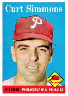 404 - Curt Simmons - Philadelphia Phillies