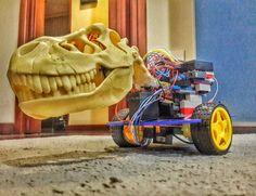 #robot #arduino #trex #ti #radiocontrol #diy #maker by honer_oliveira