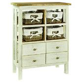 Found it at Wayfair - Rustic Valley Laundry Chest