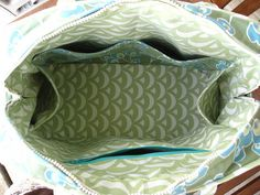 another inside view of my amy butler weekender bag by aznevon, via Flickr