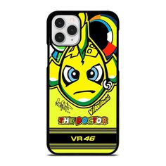 VALENTINO ROSSI 46 MOTOR GP iPhone 11 Pro Case Cover  Vendor: Casesummer Type: iPhone 11 Pro Case Price: 14.90  This cool VALENTINO ROSSI 46 MOTOR GP iPhone 11 Pro Case Cover will protect your iPhone 11 Pro phone from every bumps and scratches with dashing style. The strong material may give the excellent protection from crash to the back sides and corners of your Apple iPhone. We produce the phone cover from hard plastic or silicone rubber in black or white color. The frame profile is slim… Valentino Rossi 46, Iphone 11 Pro Case, Silicone Rubber, Phone Cover, Apple Iphone, Profile, Plastic, Slim, Type