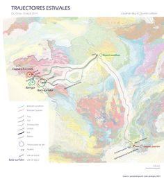 Trajectoires estivales | Quentin LEFEVRE - Urbanisme, Design et Cartographie sensible