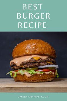 Hamburger Dishes, Hamburger Meat Recipes, Beef Dishes, Pork Recipes, Cooking Recipes, Entree Recipes, Vegetarian Recipes, Juicy Burger Recipe, Slow Cooker Ground Beef