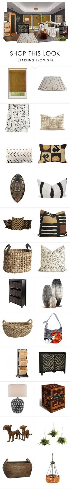 """africa"" by sterlingkitten on Polyvore featuring interior, interiors, interior design, home, home decor, interior decorating, NOVICA, Jayson Home, Pier 1 Imports and Crate and Barrel"