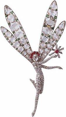 ✯ Van Cleef & Arpels Dragonfly Fairy Clip ..1944✯