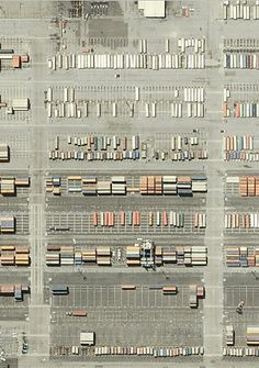 parking lots from above