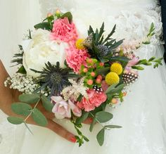 my wedding bouquet made by zuz <3
