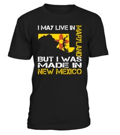 I May Live in Maryland But I Was Made in New Mexico #NewMexico