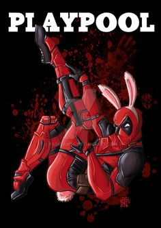 Deadpool pinup by pa3kpanda on DeviantART.com ★