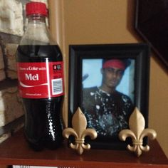 Pic of his inspiration, his older brother Mel. Was murdered in NO on 8/31/2010