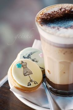Beautiful Biscuits & Coffee !! knowyourgrinder.com #coffee #homemade #biscuits