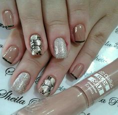 55 popular ideas of christmas nails designs to try in 2020 page 28 Crazy Nails, Fancy Nails, Pretty Nails, Beautiful Nail Designs, Beautiful Nail Art, Christmas Nail Designs, Christmas Nails, Nagel Stamping, Nailart