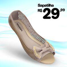 Sapatilha Tela de R$50,00 por R$29,99! Compre Online!!