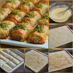 It's a sweet dessert. It's a sweet dessert. Bulgarian Recipes, Turkish Recipes, Homemade Desserts, Dessert Recipes, Turkish Sweets, Pastry And Bakery, Arabic Food, Food Humor, Perfect Food