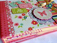 Libro de firmas en www.papercolorandmint.com