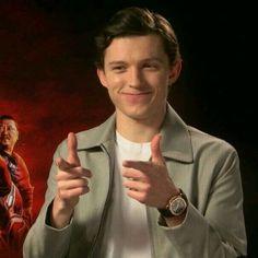 """ i think i kinda . you know "" joshua bassett x fem! Avengers Memes, Marvel Memes, Tom Holland Peter Parker, Tommy Boy, Men's Toms, Meme Faces, Reaction Pictures, To My Future Husband, At Least"