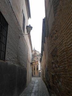 Calle de trazado musulmán en el casco antiguo
